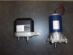 DC-Motoren 6/12/24 Volt  7,2 und 15 Nm
